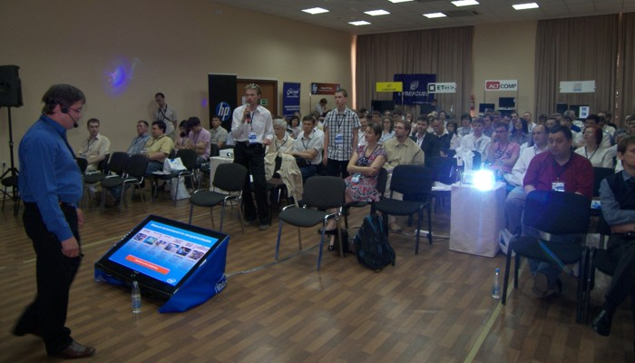 Cеминар Intel IT Galaxy 2011 для IT-профессионалов. Самара. 1 июня 2011 г. Фото: Владислав Бояров.