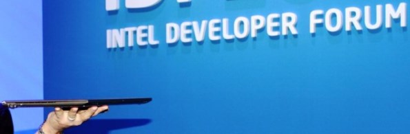 Ультрабук (Ultrabook). Intel Developer Forum 2011. Сан-Франциско. 13-15 сентября. Фото: Владислав Бояров.